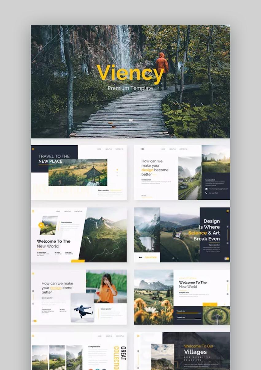 Viency Premium Google Slide Template