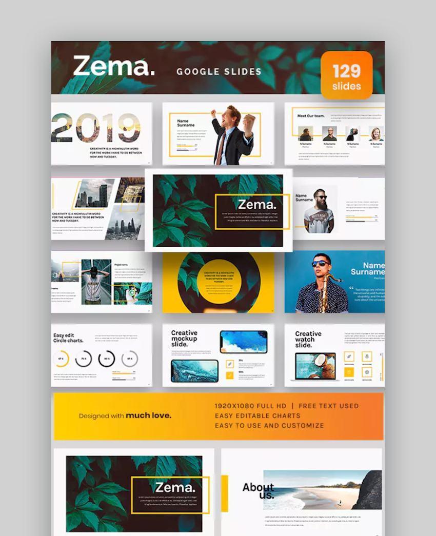 Zema Google Slides Template