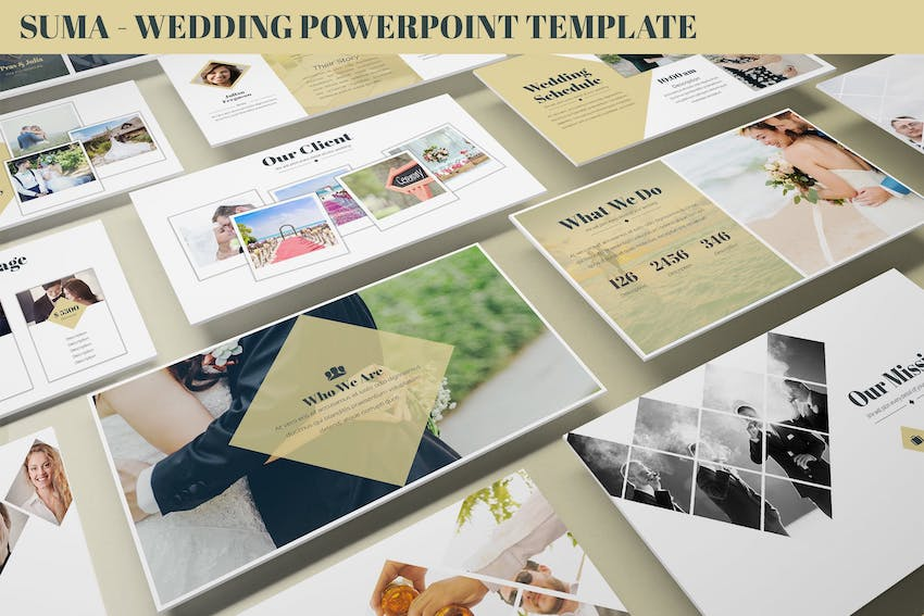 Wedding Slideshow Template Wedding Floral Floral Wreath