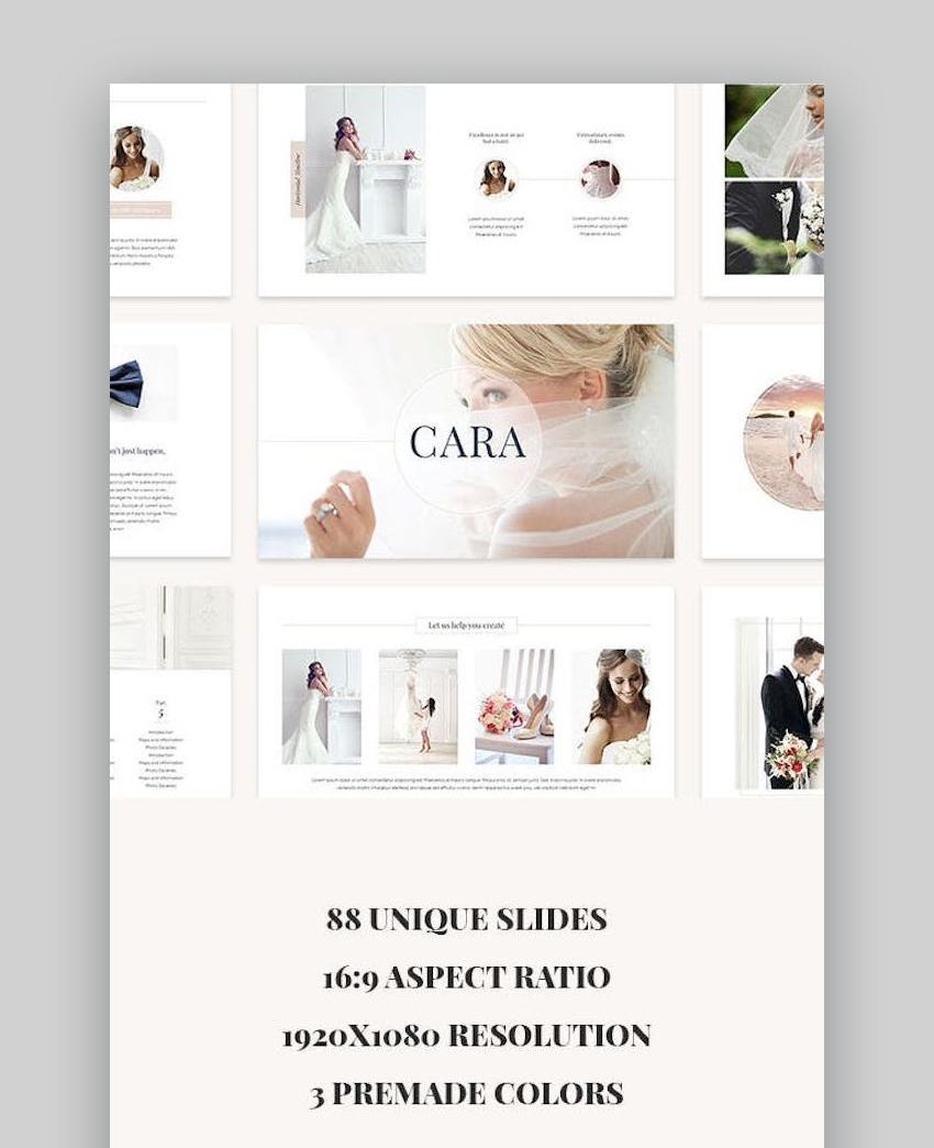 Cara PowerPoint Template