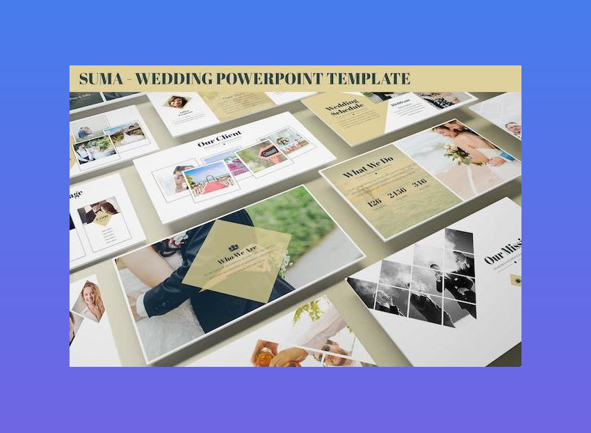 Suma - Wedding PowerPoint Template