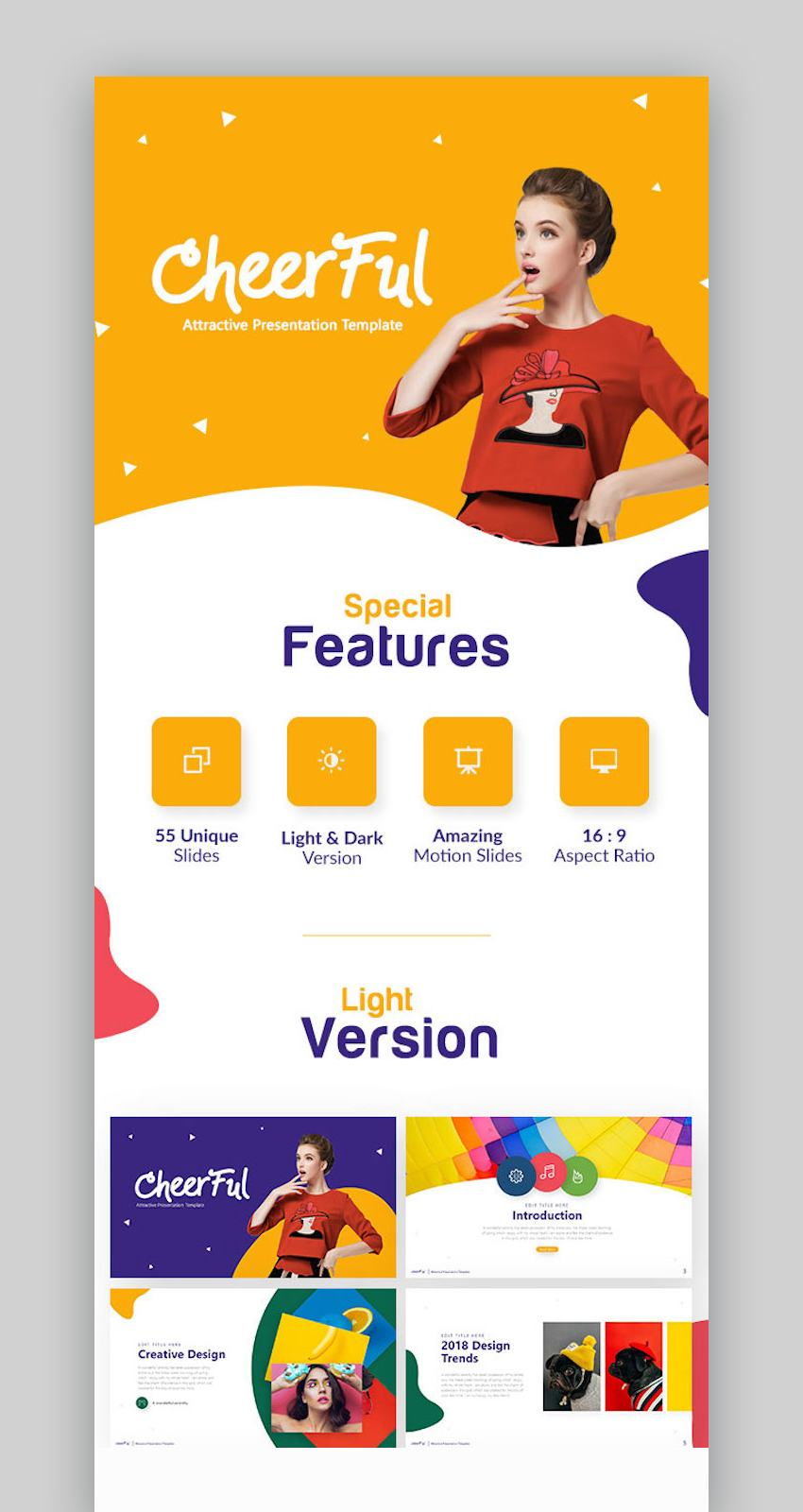 Cheerful PowerPoint Template
