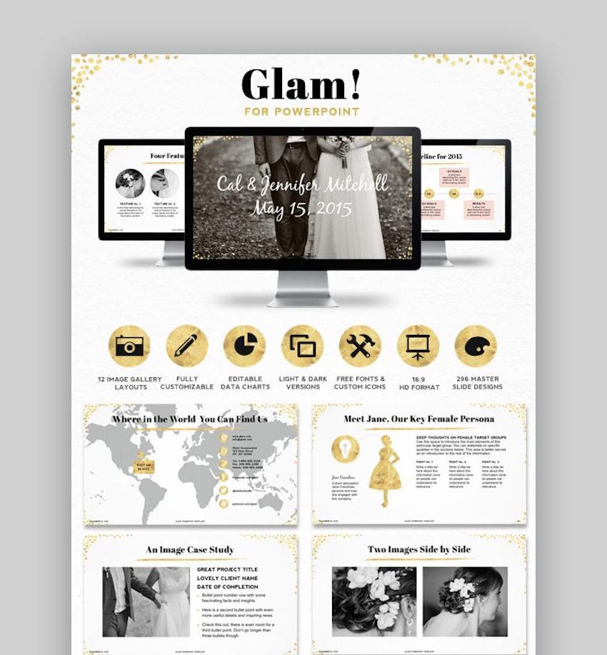 Glam PowerPoint Presentation Template