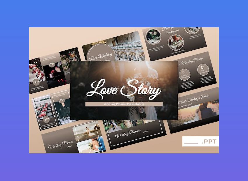 Love Story - Wedding PowerPoint Presentation