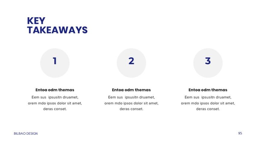 Professional Google Slides Templates - Bilbao