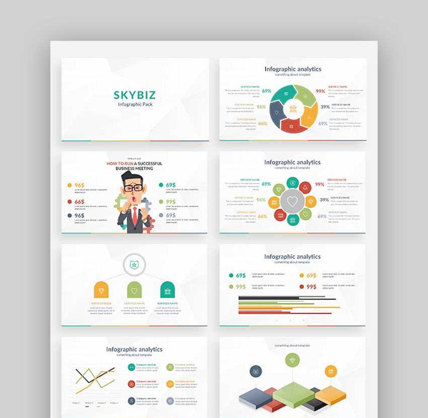 Infographic Presentation Slides Templates