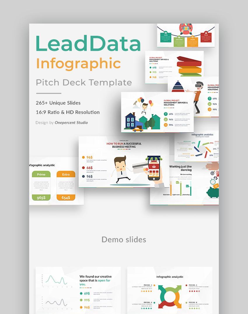 LeadData Google Slides-Infographic Template