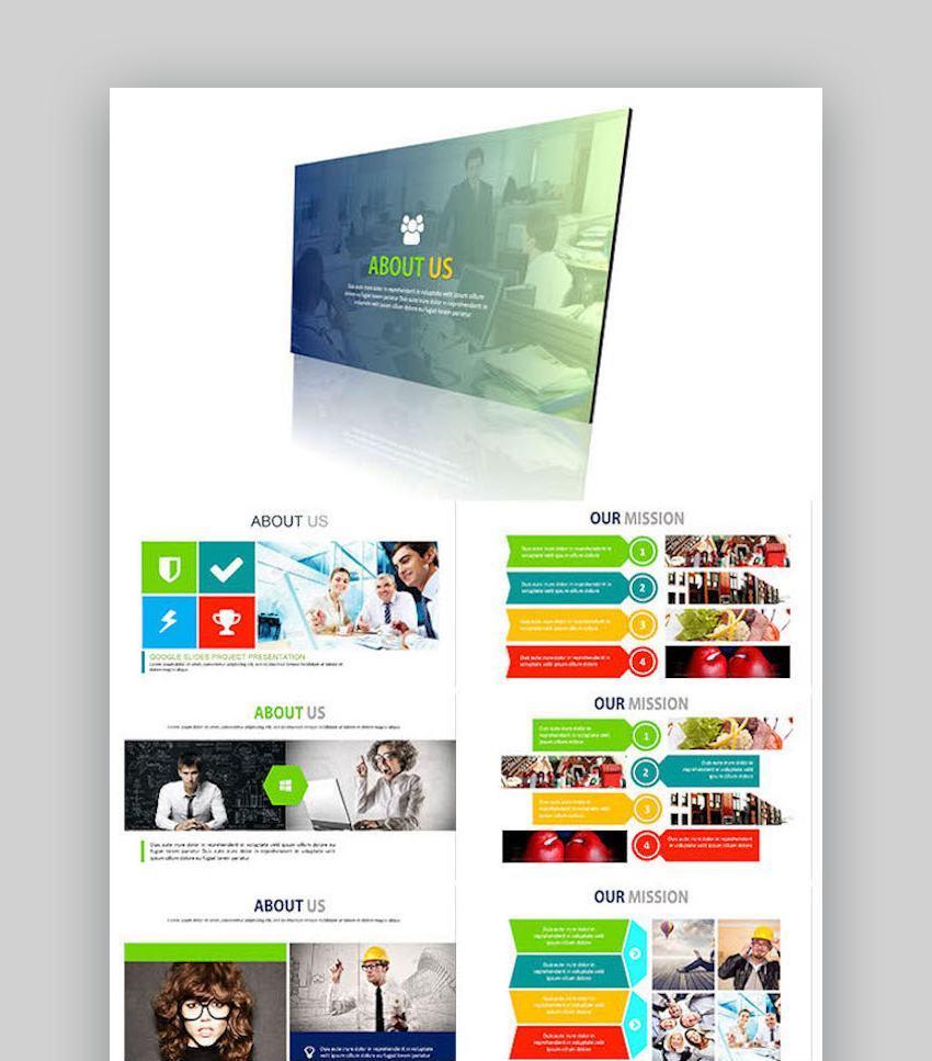 COLORS - Google Slides Business Presentation