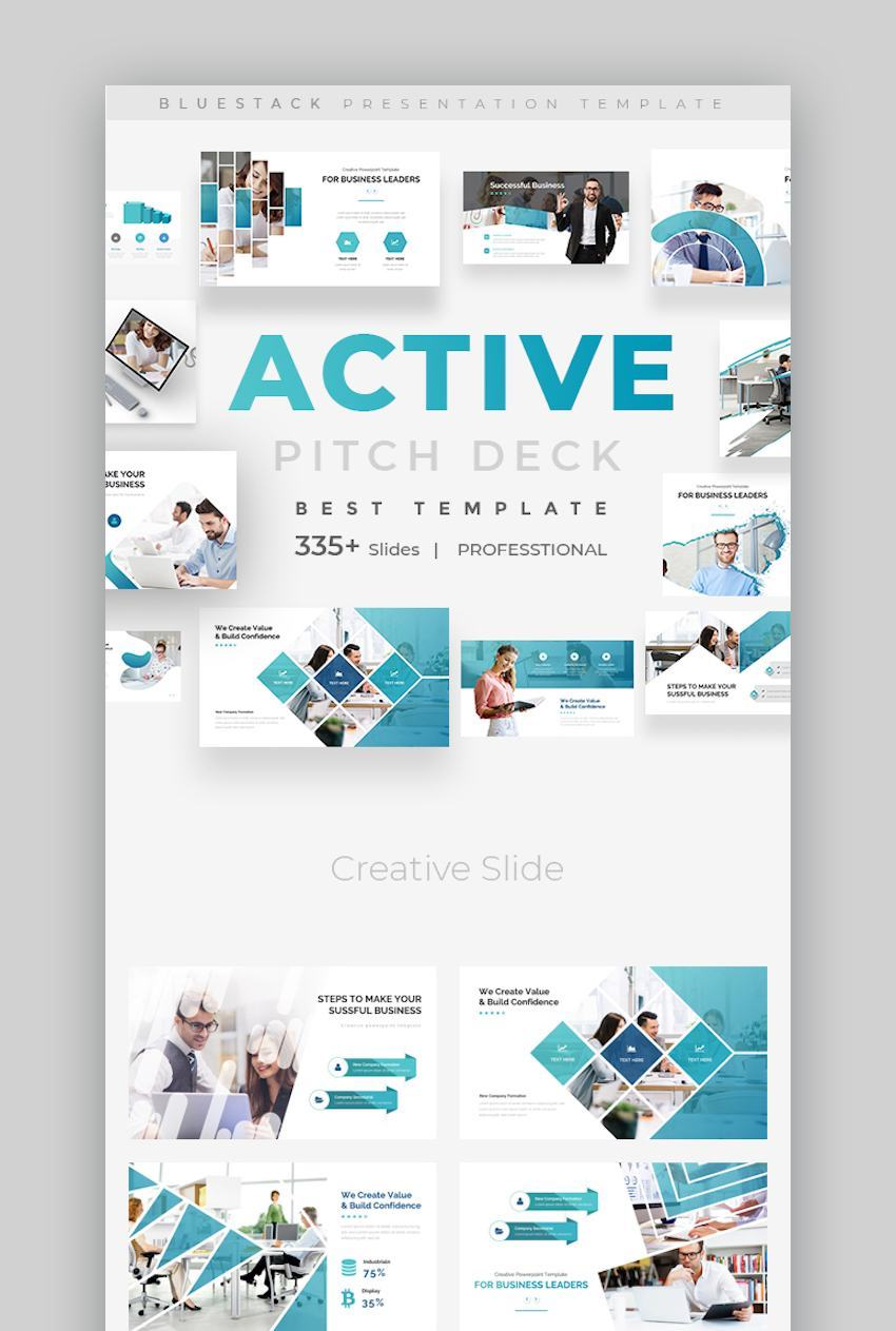 Active Fully Animated Pitch Deck Google Slide Template