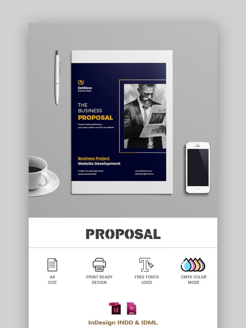 Business Proposal Template A4