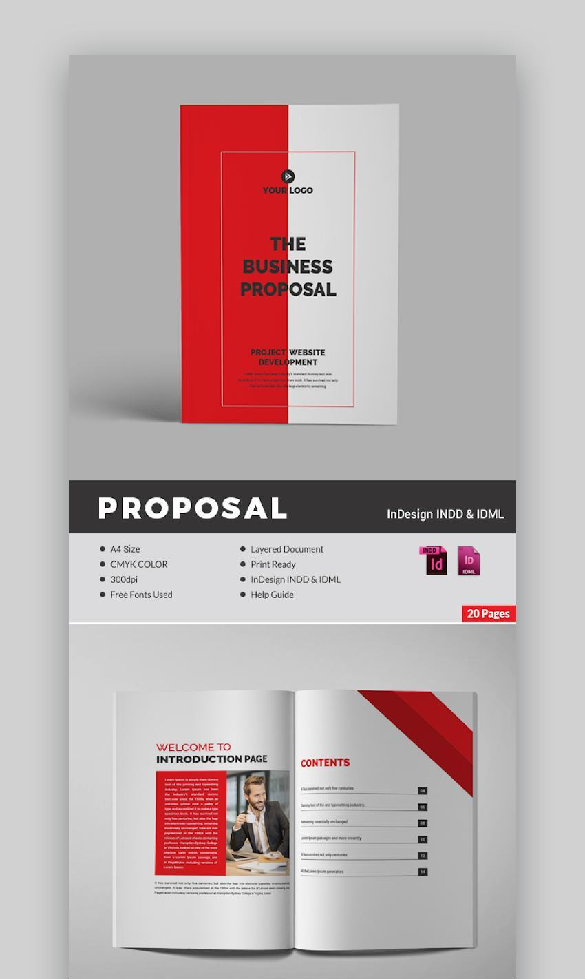 Business Proposal Template 20 pp