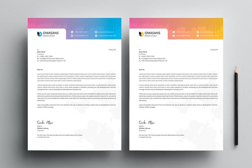 Letterhead Template Word - How to Customize
