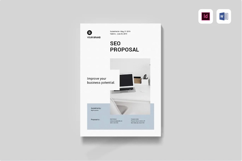 SEO Proposal Template for Word from Envato Elements