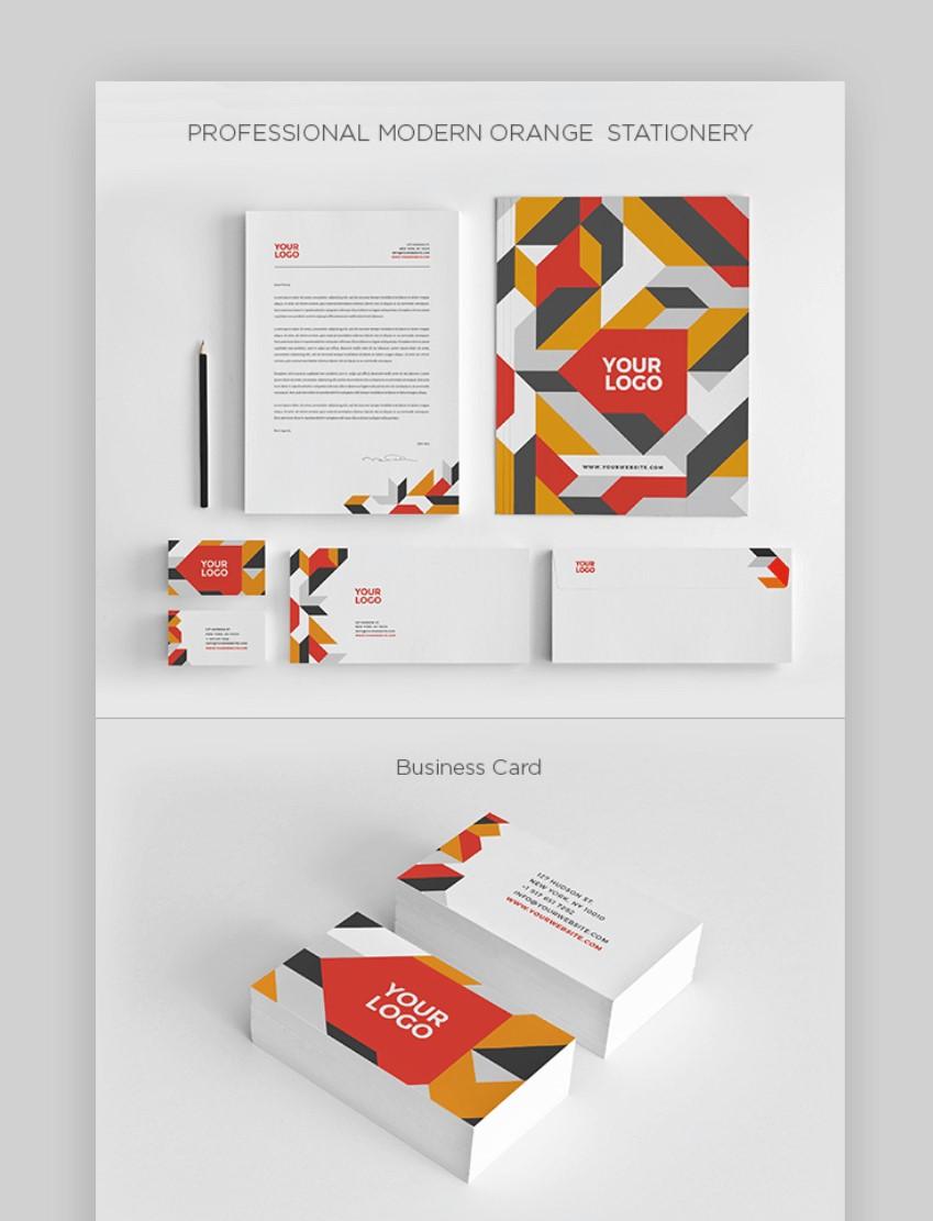 Professional letterhead templates