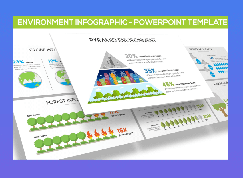 Environment powerpoint graphics