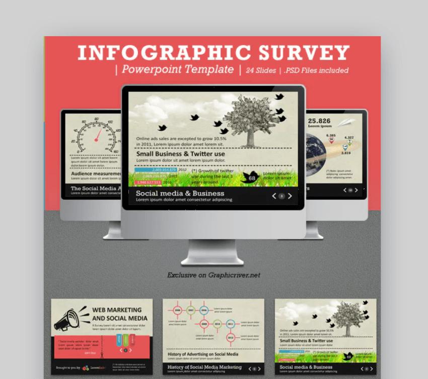survey infographic design templates
