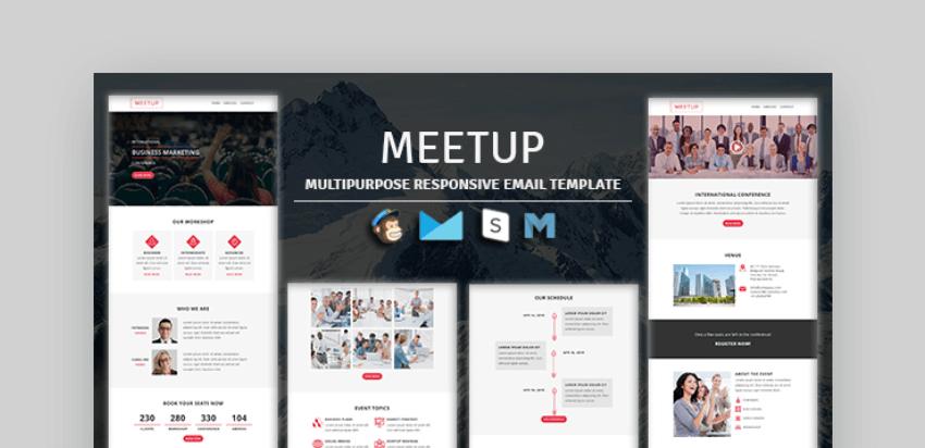 free mailchimp templates - Meetup