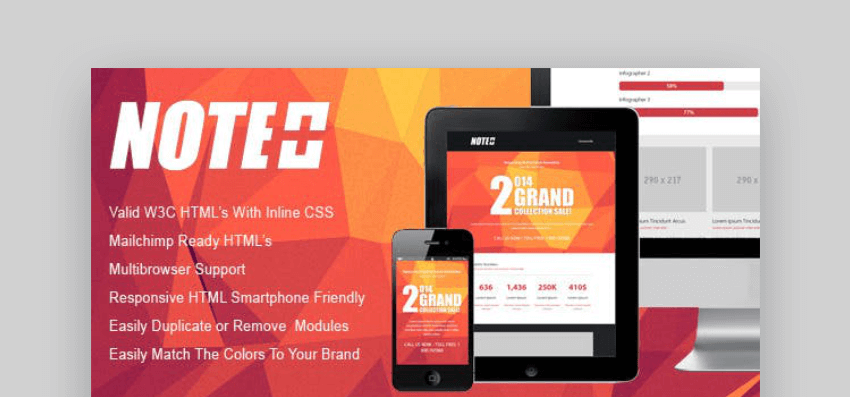 Responsive Email Newsletter Template