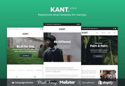 40 Premium & Free Email Templates (Top Responsive HTML Designs to Download 2019/2020)