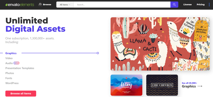 Get unlimited email templates for one low price on Envato Elements
