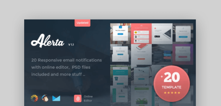email newsletter templates - Alerta