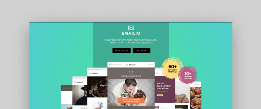 email newsletter templates - Emailio