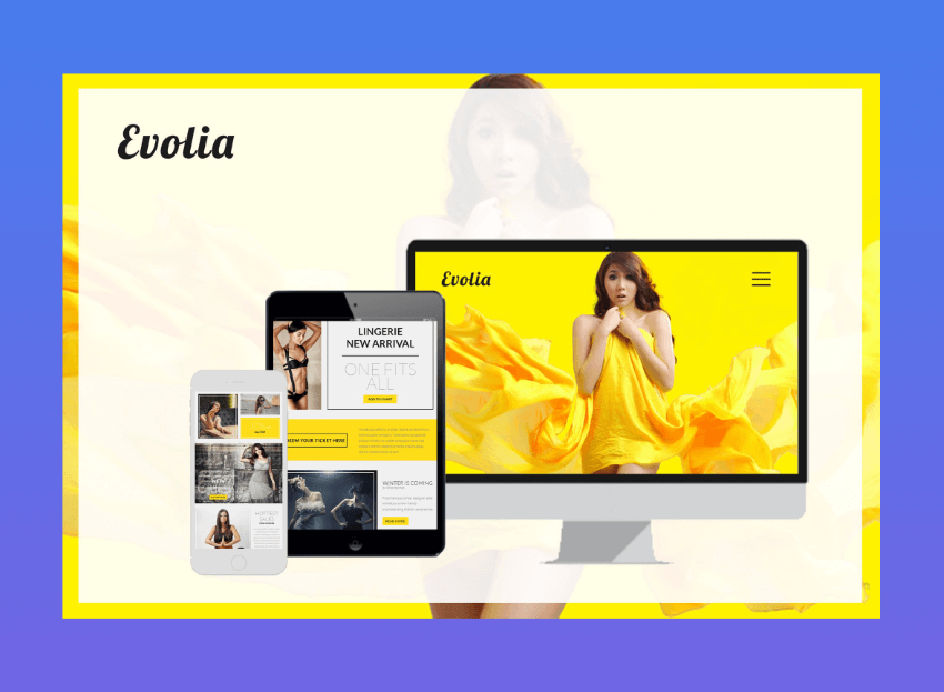 Evolia  corporate email newsletter templates