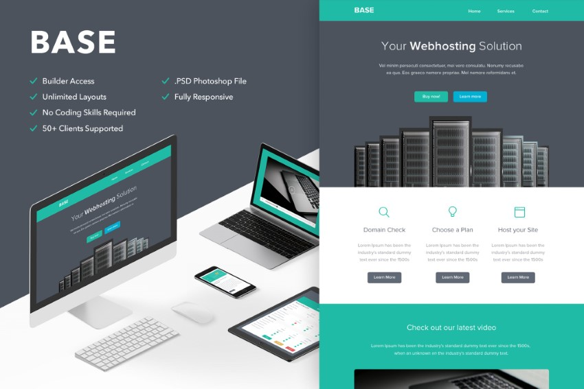 base email marketing automation mailchimp template