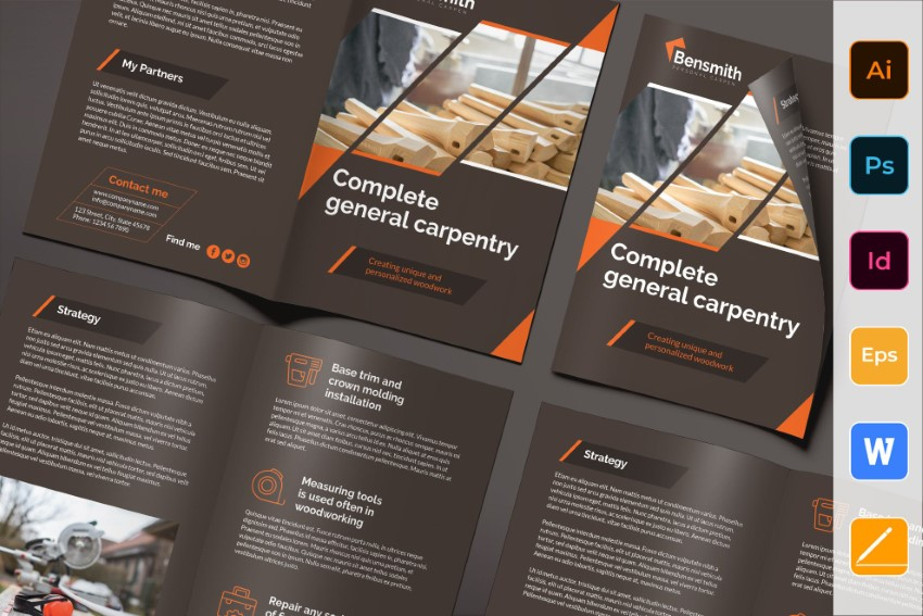 20 Easy To Use Word Brochure Templates To Make Quickly