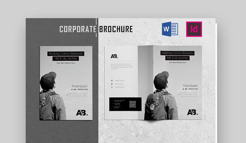 corporate brochure word