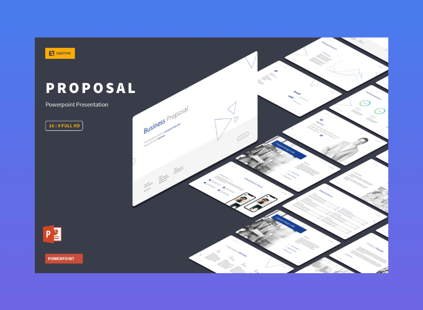 powerpoint template business proposal