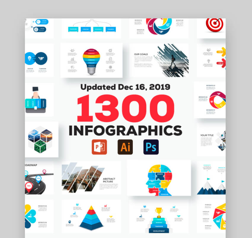 infographic powerpoint template downloads
