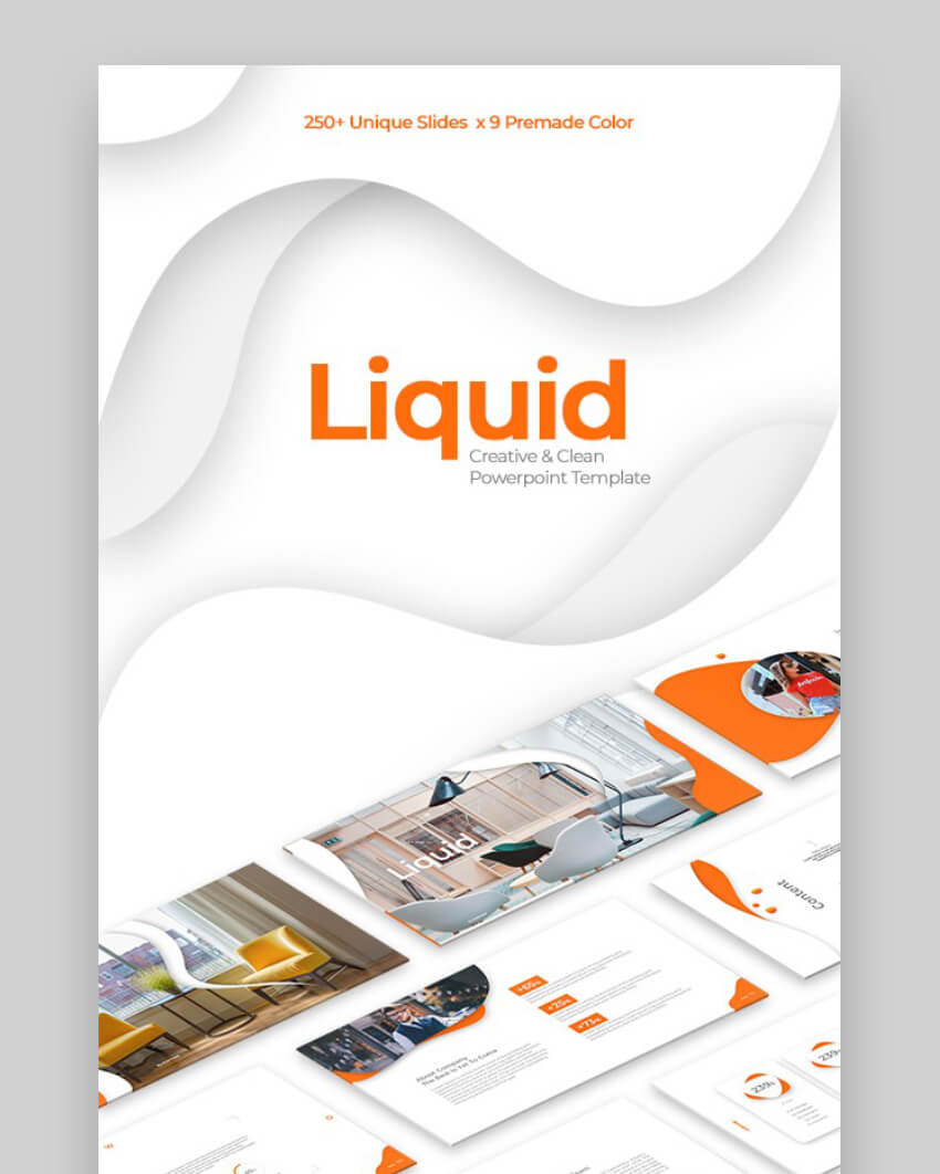liquid premium powerpoint themes