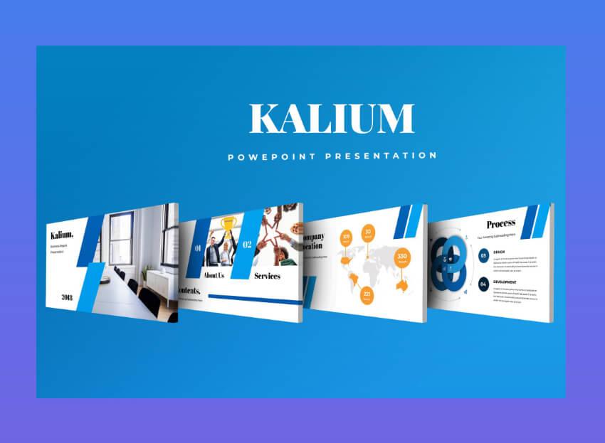 best corporate presentation ppt - kalium