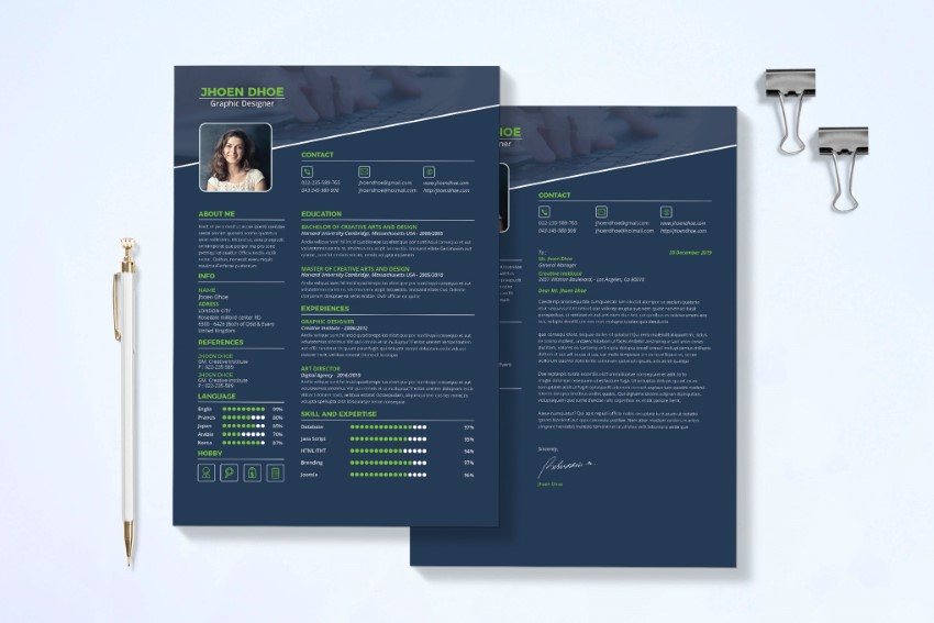 20 Best Free Modern Resume Templates Download Clean Cv Design