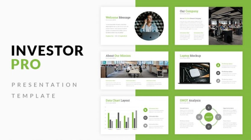 e learning powerpoint templates free - Investor Pro