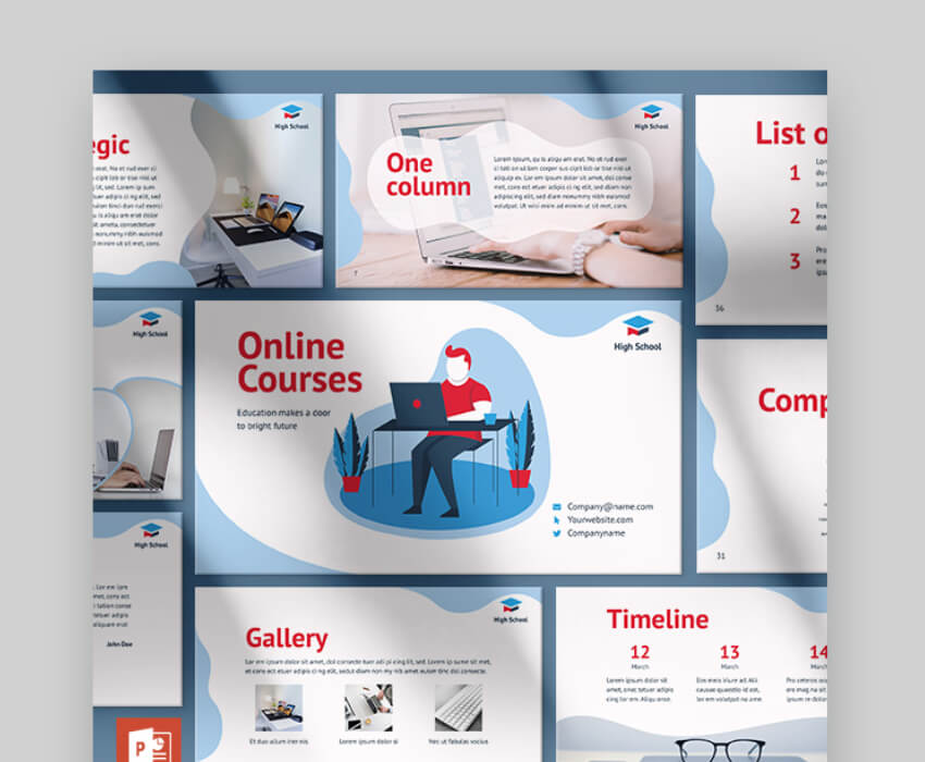 powerpoint training template