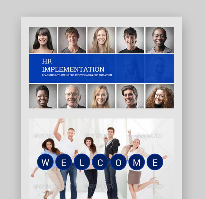 training powerpoint templates - HR