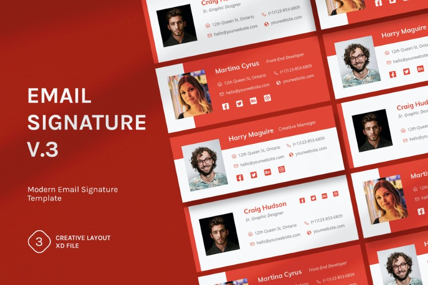 how to make a great email signature - tip 1