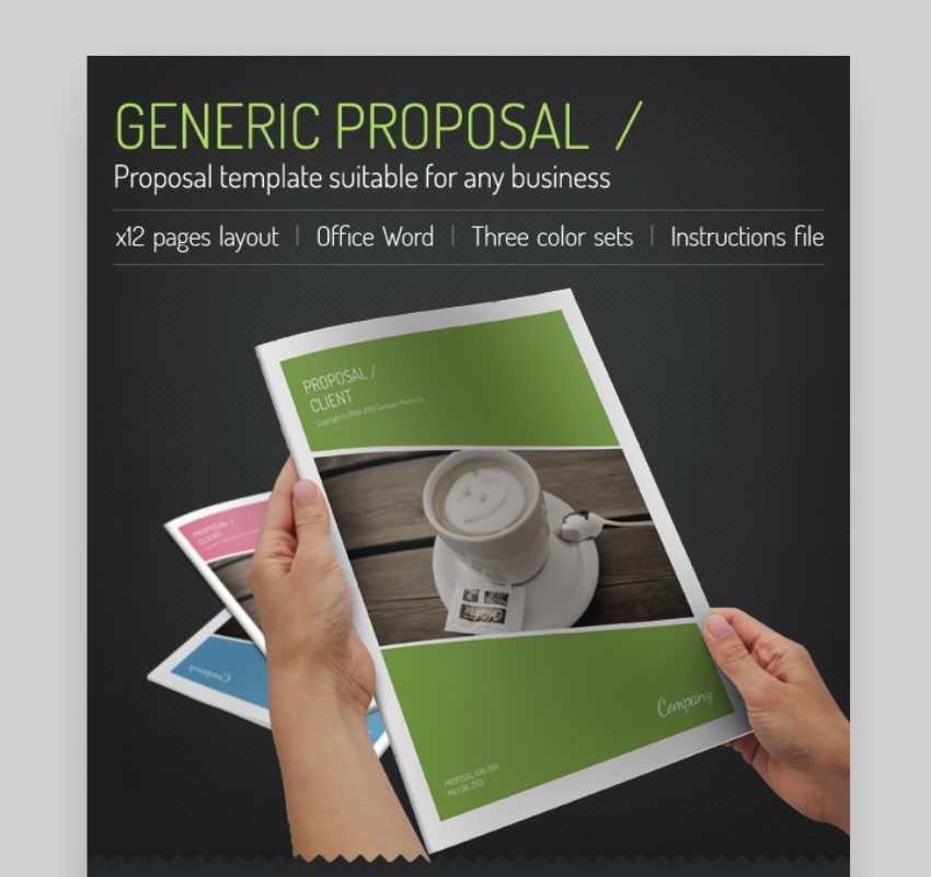 generic microsoft word business proposal template