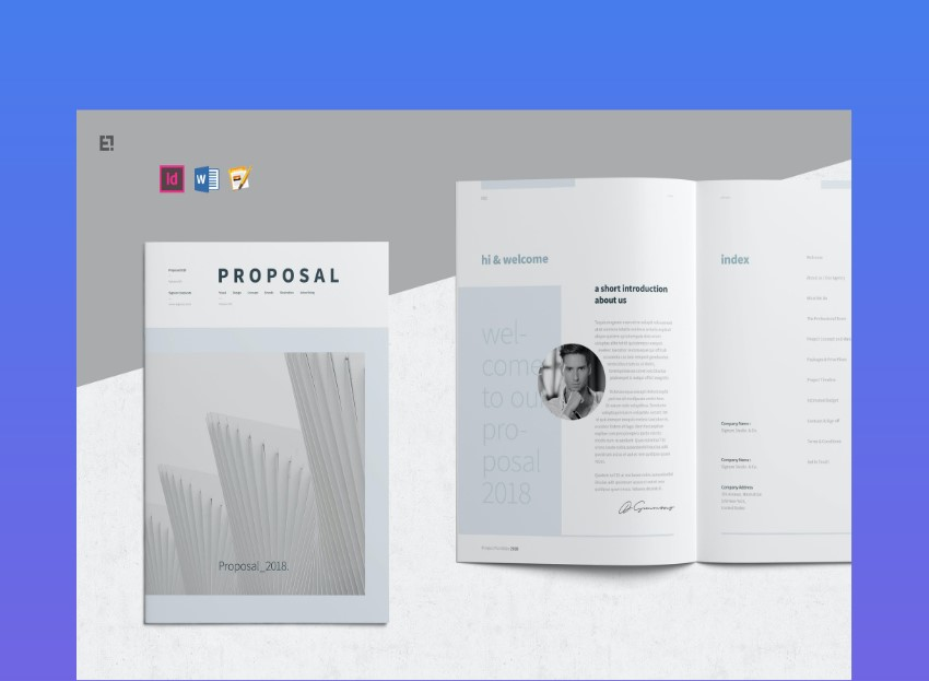 18 Best Free Google Doc Microsoft Word Proposal Templates 2020