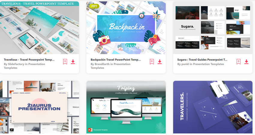 25 Best Free Travel Tourism Powerpoint Presentation Templates For 2020