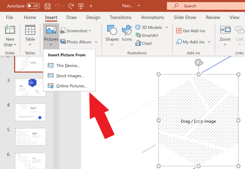 How to Add or Resize Images in a leadership powerpoint presentation