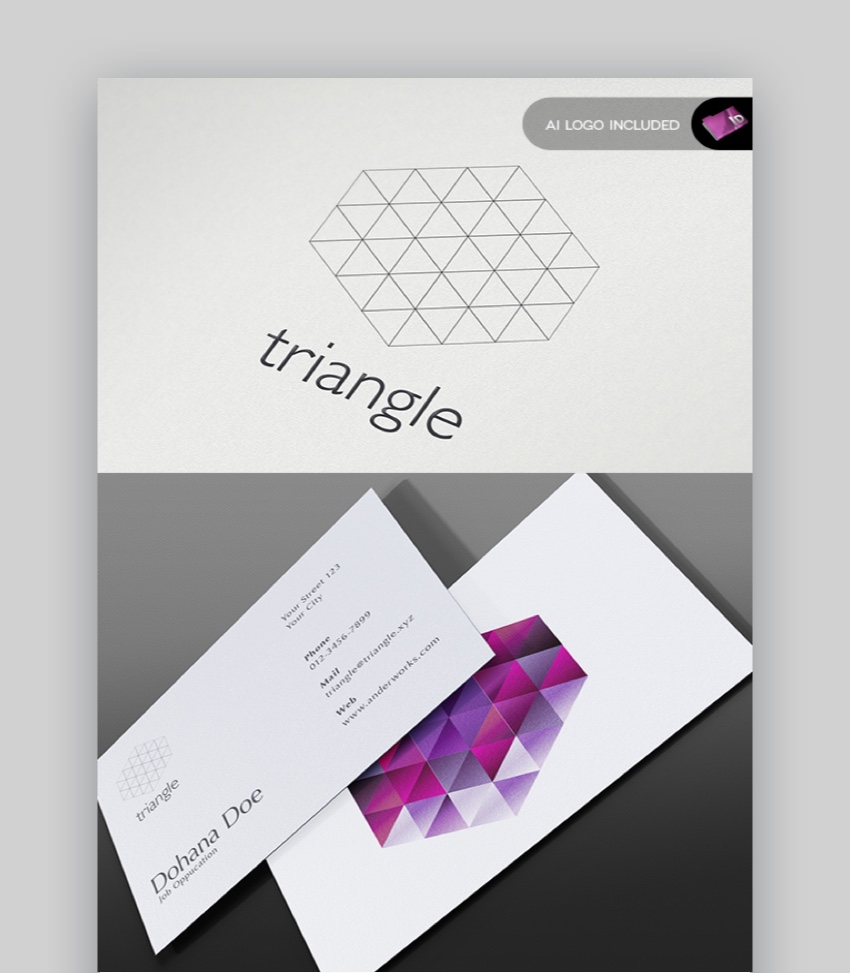 Modern Stationery Template