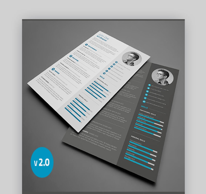 resume template for business