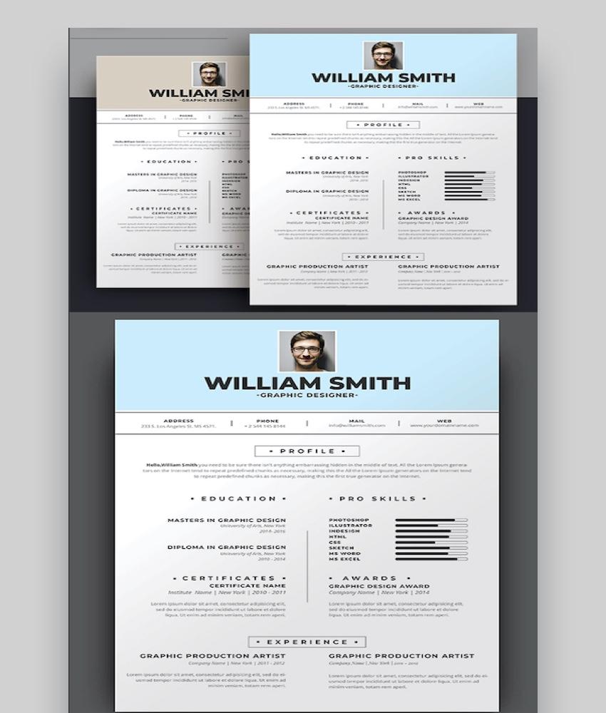 professional design resume