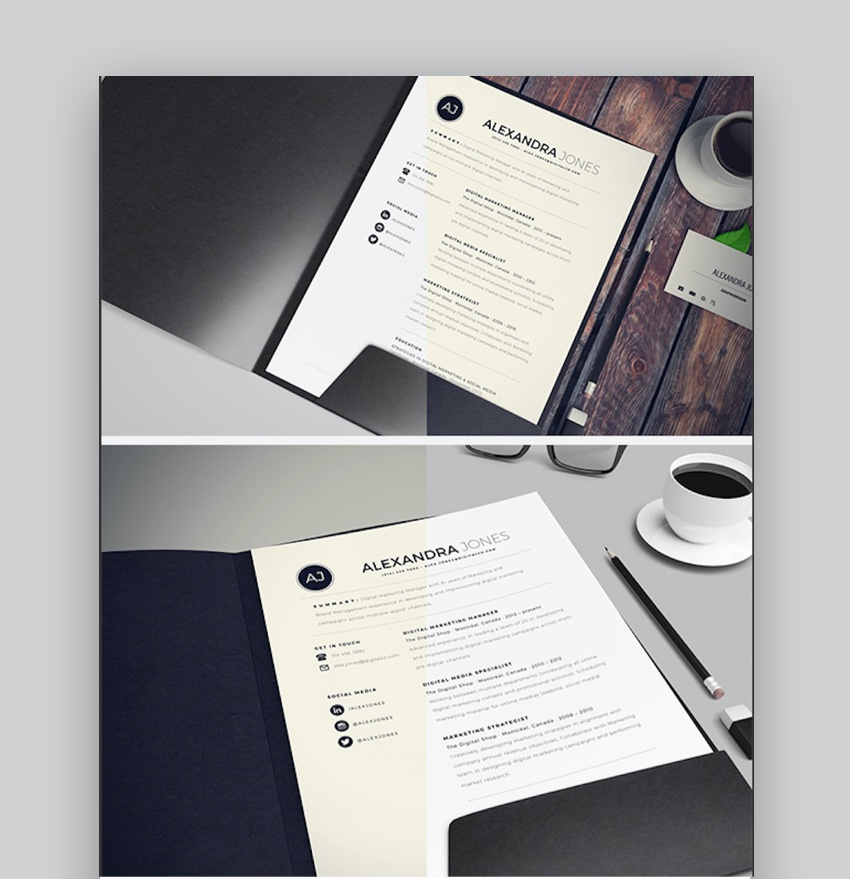 professional creative resume