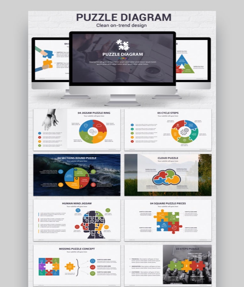 Powerpoint Puzzle Pieces Template