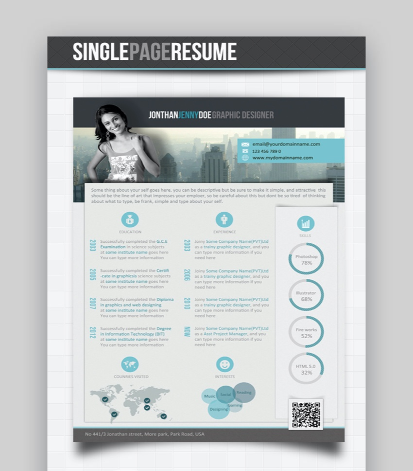 15 Unique Resume Templates With Interesting Resume Ideas