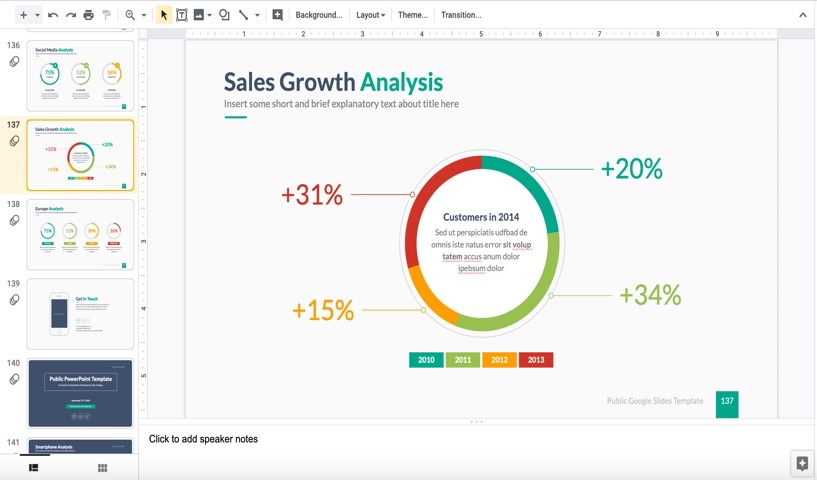 How to Make Great Charts (& Graphs) in Google Slides: With 3